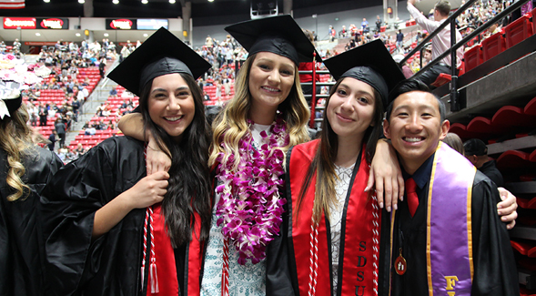 Sdsu Graduation Dates 2020.Sdsu Commencement Schedule Newscenter Sdsu