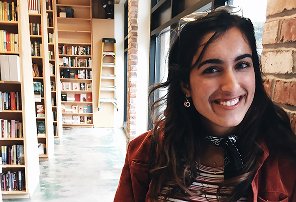Neha Nene's proudest achievement at SDSU was being selected as an officer for the Weber Honors College.