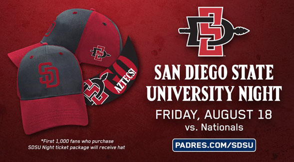San Diego State University Night at Petco Park