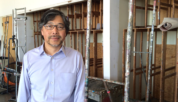 Kotaro Nakamura is the director of the School of Art and Design. He started at SDSU as an American Language Institute student.