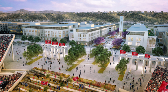 a fresh look at the sdsu mission valley site plans newscenter sdsu