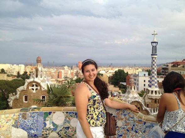 Olivia Silva studied abroad in Spain and Italy and served as president of the Imperial Valley campus study abroad club, Aztecs Around the World.