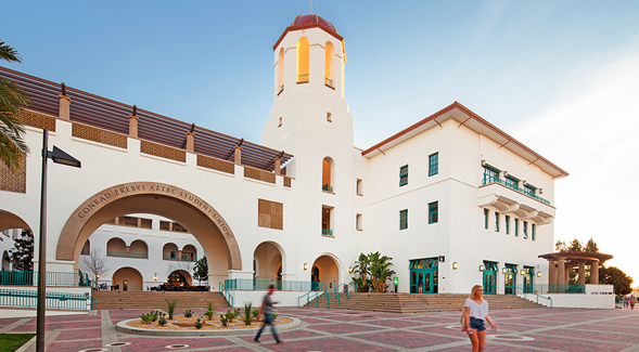 Conrad Prebys Aztec Student Union (Photo: Pablo Mason Photography)