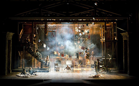 "Charles Murdock Lucas designed the scenes for Cabrillo Stage's ""Oliver!"" in 2014."