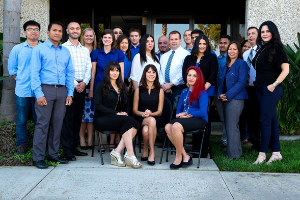 SDSU alumna Zeynep Ilgaz '00 (front row, middle) founded Confirm Biosciences.