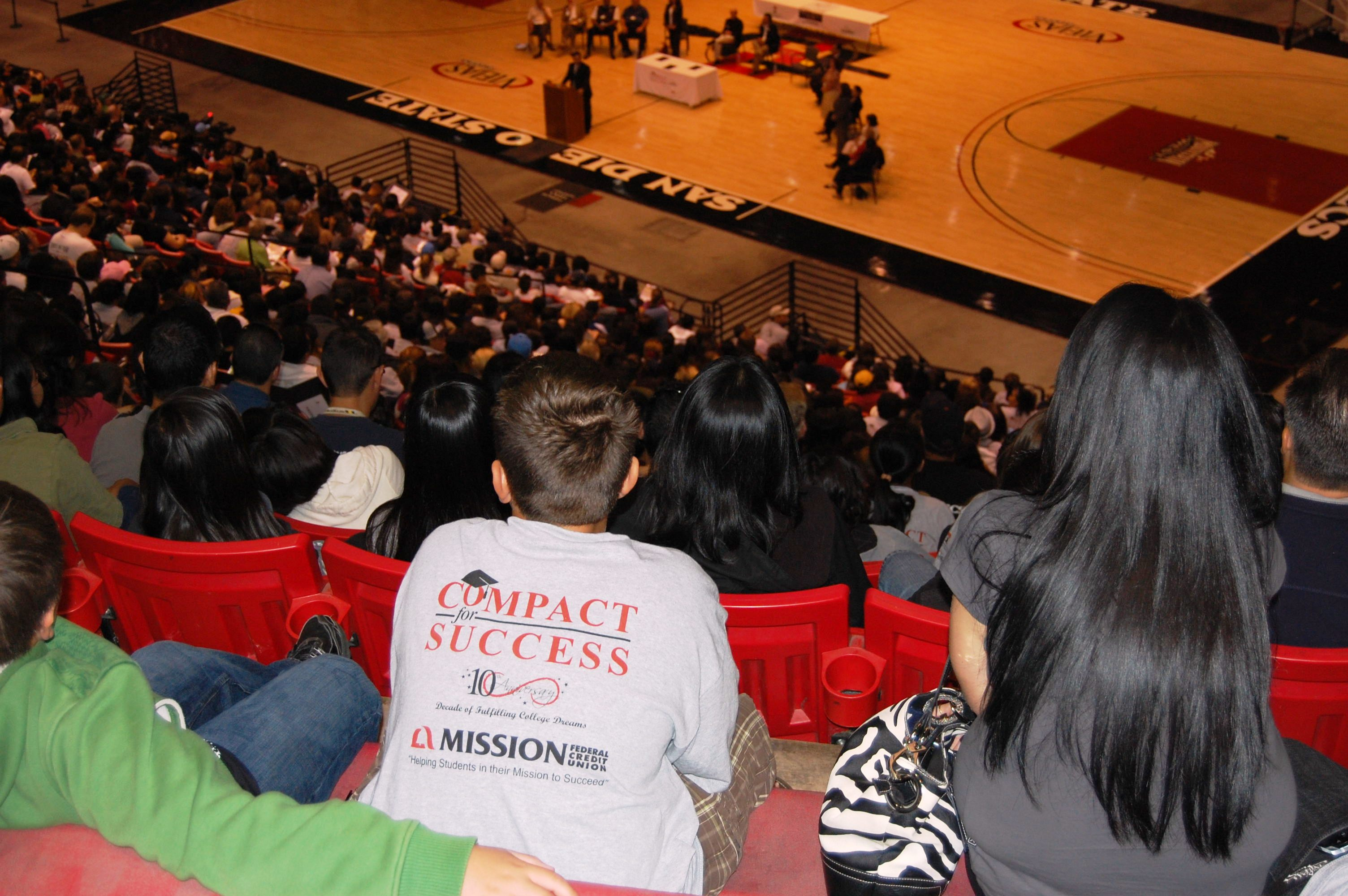 Thousands of Sweetwater Union High School District 7th graders visited SDSU