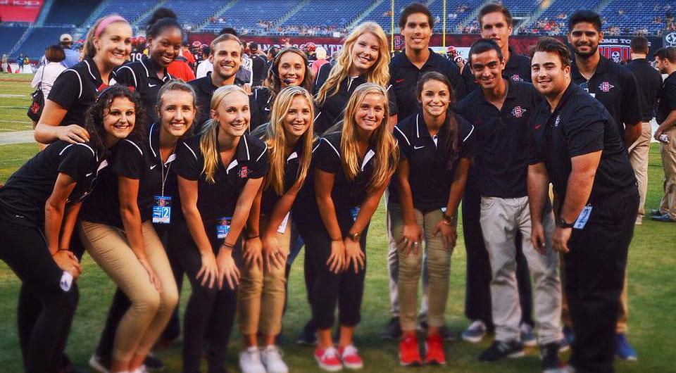 Fox Sports Internships Summer 2020.Behind The Scenes Of Aztec Athletics Newscenter Sdsu