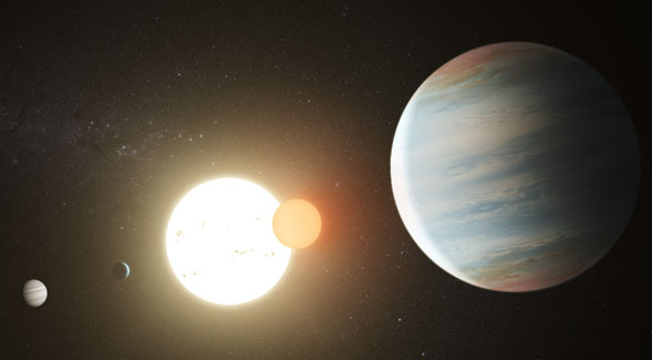 Astronomers confirm third planet in binary star system