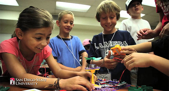 Camp sessions are five days filled with science and discovery.