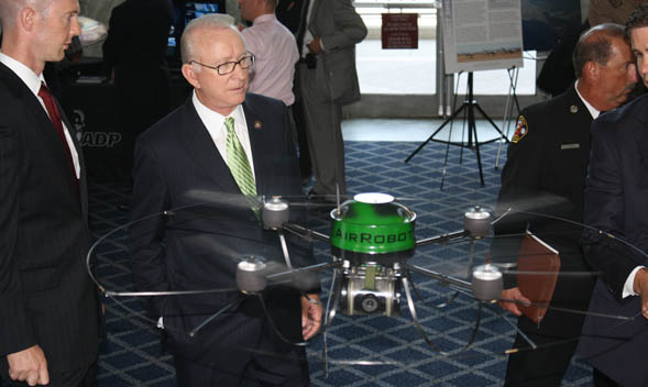 The CUSC Science and Technology Fair.  Courtesy of the Congressional Unmanned Systems Caucus