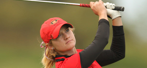 Paige Spiranac, a junior on the women's golf team, received  All-Mountain West honors.