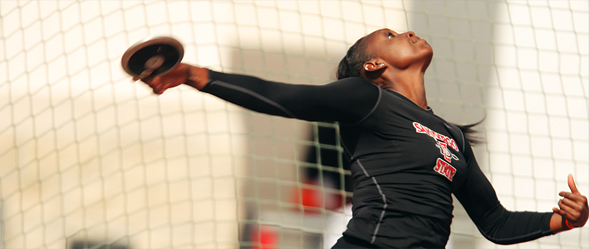 Ashley defeated 23 other entrants in the discus national championships with a toss of 196 feet, 10 inches