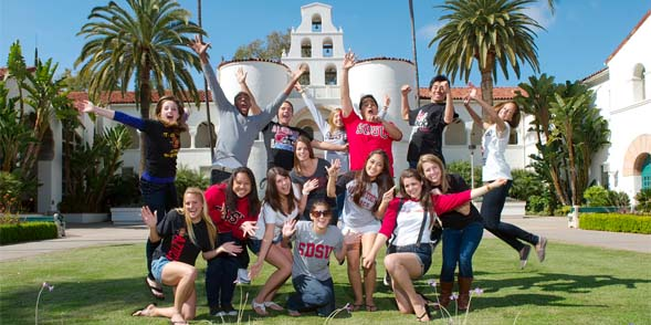The entering freshman class is one of the highest achieving in the history of the university with an average GPA of 3.61 and SAT score of 1105. Photo by Alan Decker.