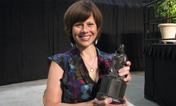 Jessica Barlow received a Faculty Monty in 2012.
