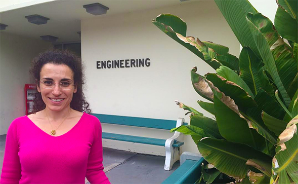 Ilenia Battiato, an assistant professor of mechanical engineering.