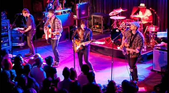 The Plain White T's played at the Belly Up Tavern in 2013. Photo courtesy of Steve Covault.