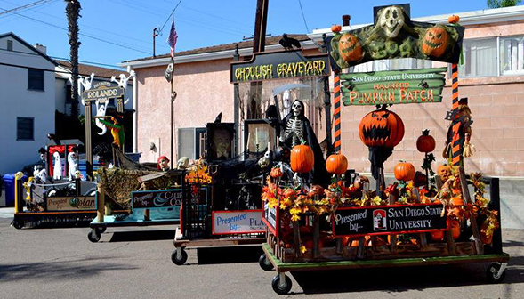 The 12th annual Boulevard Boo! Parade begins at 10 a.m. on Saturday, Oct. 29 at the intersection of El Cajon Boulevard and Rolando Boulevard. (Photo: College Area Business District)