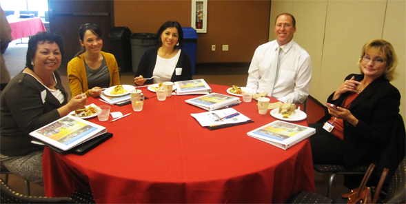 Participants in the Early Assessment Program Breakfast