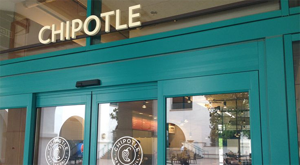 Chipotle is located in the Aztec Student Union.