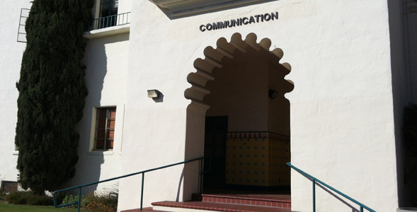 SDSU communication building