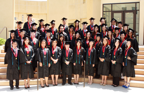 Compact Scholars program will host its annual graduation reception. Compact Scholars 2012 graduates are pictured.