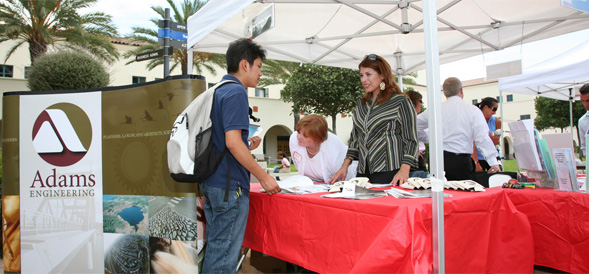 Proximity is a new way for students to interact with career fairs on campus.
