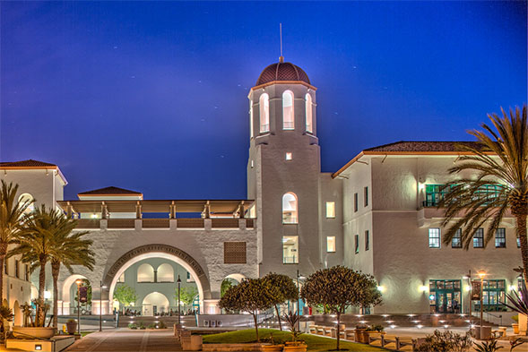 The Conrad Prebys Aztec Student Union.