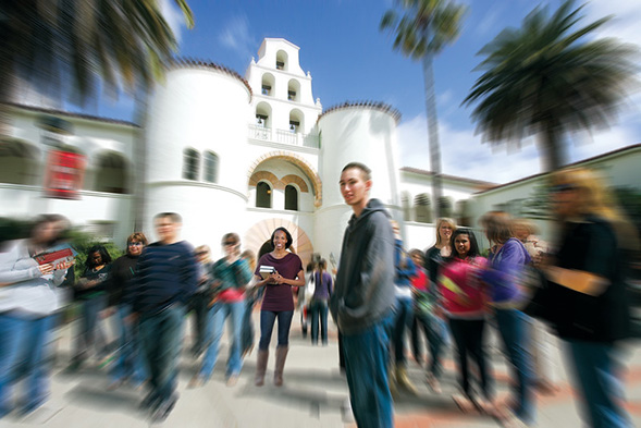 At SDSU, students from all backgrounds are achieving academic excellence.