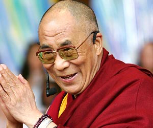 His Holinesss the 14th Dalai Lama