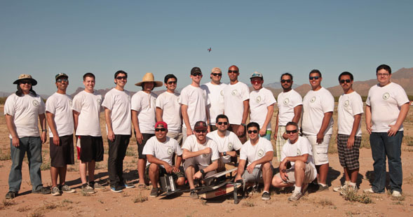 The SDSU Design, Build and Fly team.