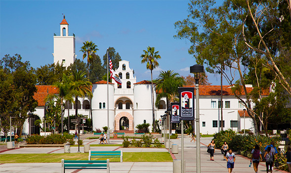 Hepner Hall captured by Jim Brady.