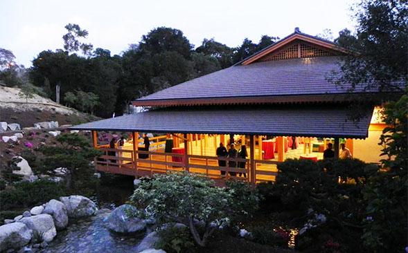 Japanese Friendship Garden Pavilion Building Unveiled Newscenter Sdsu