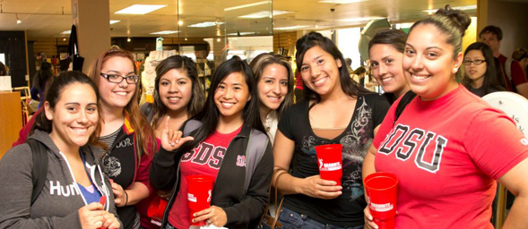 Students can enjoy special offers, games, prizes and food at the SDSU Bookstore's 2013 GradNite.