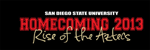 The Homecoming T-shirt design contest is open to all students, faculty, staff, alumni and Aztec fans.