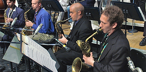 """Jazz It Up"" features the SDSU Jazz Orchestra, two all-star alumni bands and a distinguished faculty ensemble."