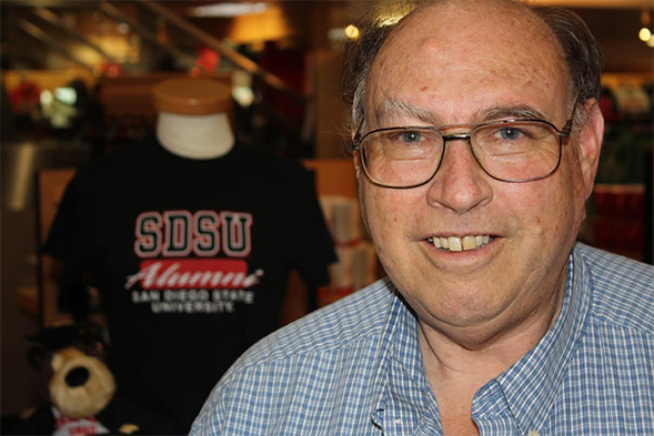 Jerry Zullo was the voice of the Marching Aztecs for 45 years.