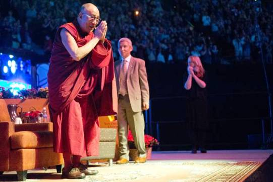 His Holiness the 14th Dalai Lama visited SDSU in April 2012.