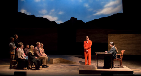 aztecs take on the laramie project newscenter sdsu the production ran from nov 15 24 at sdsu s don powell theatre