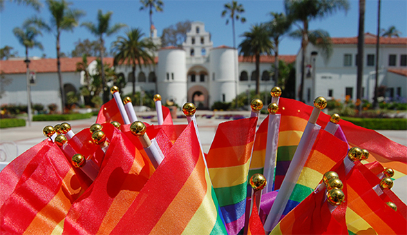 SDSU's high-ranking achievement stems from the multitude of resources and support for LGBT students on campus.
