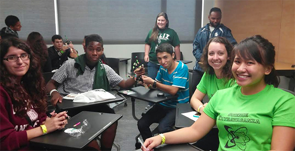Local high school students create their own prosthetic hand.