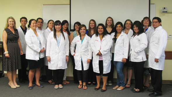 San Diego State University Imperial Valley campus nursing students.