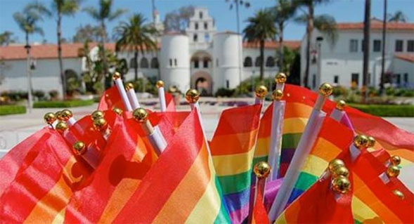 The flag-raising  ceremony will begin at 11:30 a.m on July 10 in front of Hepner Hall.