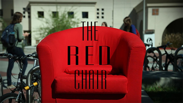 The infamous Red Chair.
