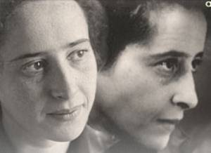 Political philosopher Hannah Arendt
