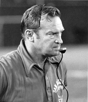 In 12 seasons coaching the Aztecs, Don Coryell won 104 games, lost 19 and tied two.