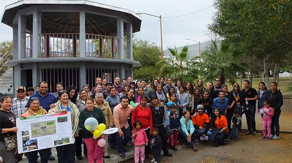 SDSU students hosted workshops to gather community input to redesign public parks in Tijuana.