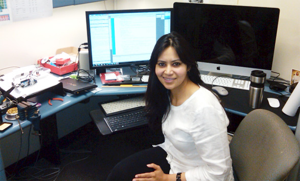 Mahasweta Sarkar, associate professor of electrical and computer engineering, has been at SDSU since 2006.