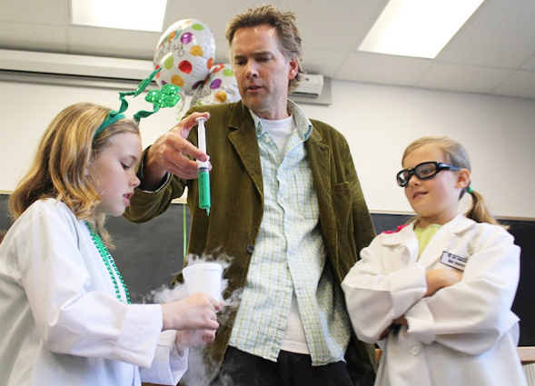 The SDSU Science Sampler allows all ages to enjoy interactive lectures and activities.