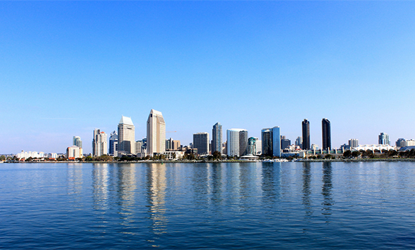 The San Diego Skyline. Photo courtesy of Cindy Devin.
