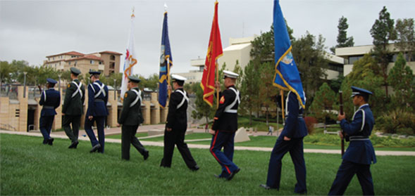 SDSU serves more than 3,000 student veterans, active duty, reservists and dependents each year.